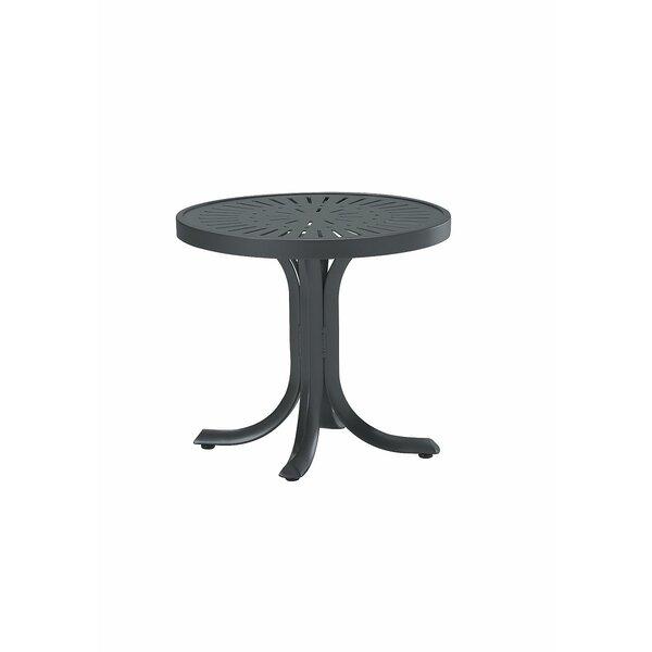 La'Stratta Metal Side Table by Tropitone