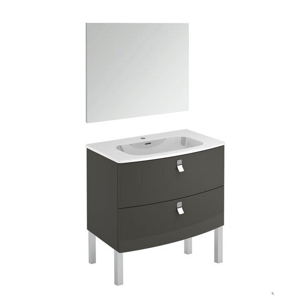Durham 32 Single Bathroom Vanity Set with Mirror