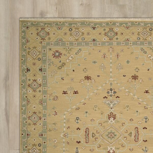 Cullen Hand-Woven Toffee Area Rug by Darby Home Co