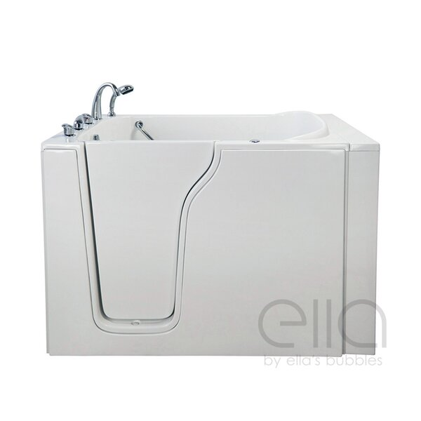 Bariatric 33 54.25 x 40 Air Massage Walk In Bathtub by Ella Walk In Baths