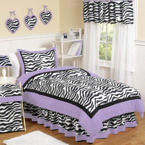 Zebra Comforter Set by Sweet Jojo Designs
