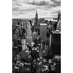 New York City Downtown II by Nina Papiorek Photographic Print on Wrapped Canvas by iCanvas