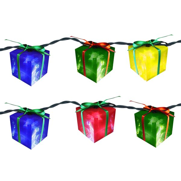 10 Light Gift Box String Light (Set of 2) by Brite Star