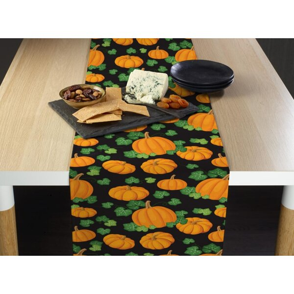 Etting Pumpkin Patch Milliken Signature Table Runner by The Holiday Aisle