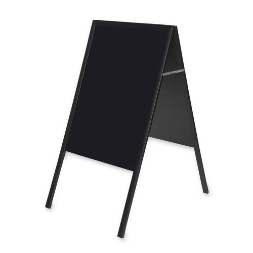 Mastervision Magnetic Free Standing Chalkboard by Bi-silque Visual Communication Product, Inc.