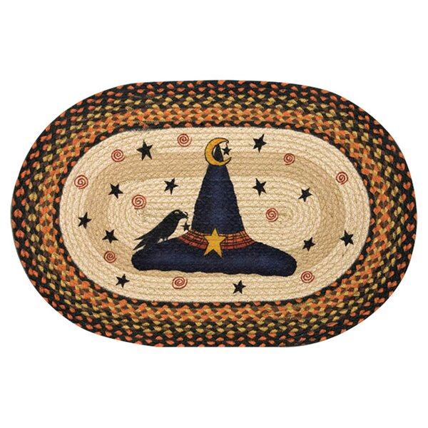Witch Hat Printed Oval Area Rug by Earth Rugs