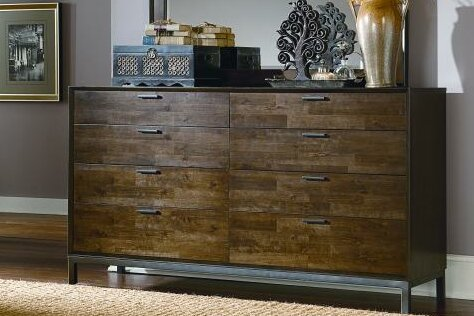 Kolton 8 Drawer Double Dresser by Latitude Run