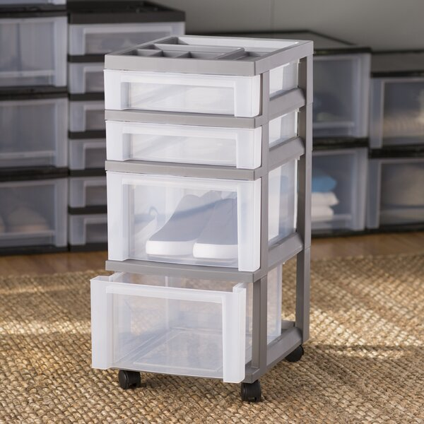 Wayfair Basics 4 Drawer Storage Chest by Wayfair Basics™