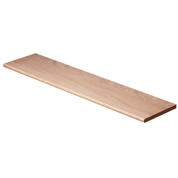 1.06 x 11.5 x 42 Plain Tread in Poplar by Carolina Stair