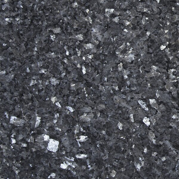 12 x 12 Polished Granite Tile in Blue Pearl by MSI