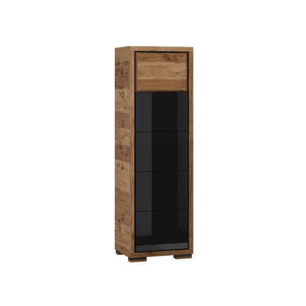 Ardent 1 Door Display China Cabinet by Foundry Select