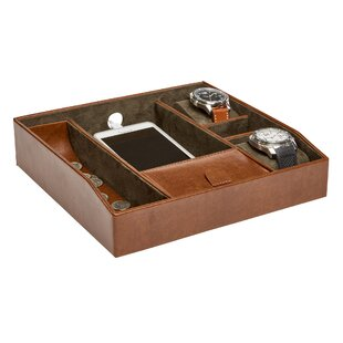 Affordable Price Men's Accessory Tray By Williston Forge