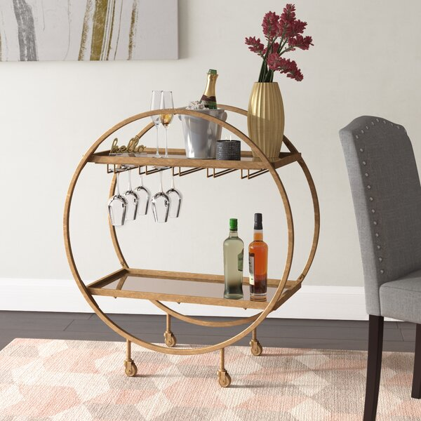 Karon Bar Cart by Corrigan Studio Corrigan Studio