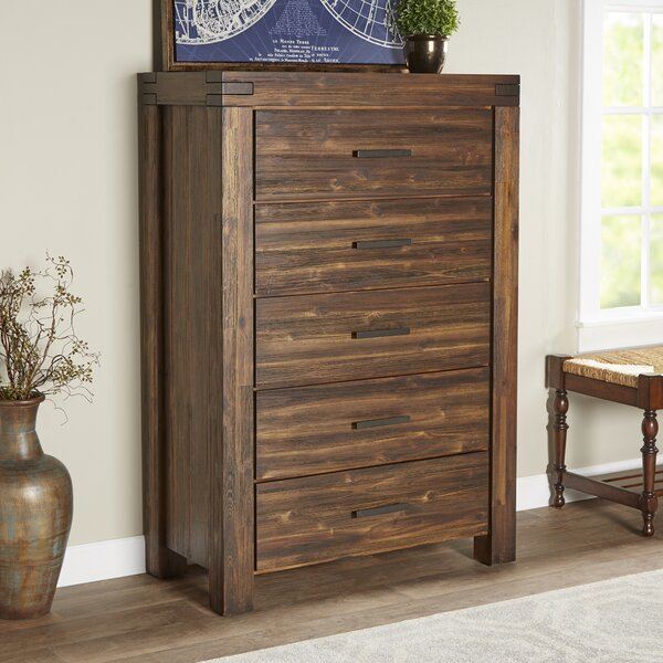 Akers 5 Drawer Chest by Grovelane Teen