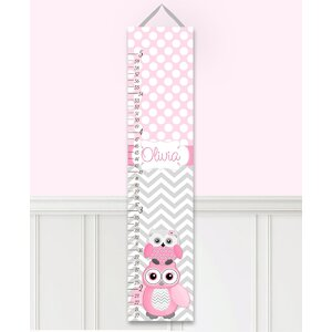 Personalized Owl Growth Chart by Toad and Lily