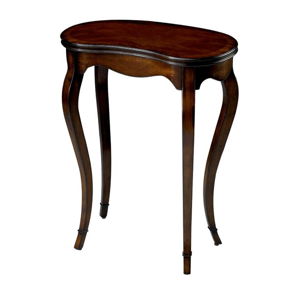 Saldivar Plantation Cherry End Table by Astoria Grand
