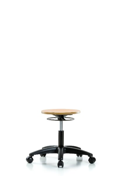 Stacey Height Adjustable Lab Stool by Symple Stuff