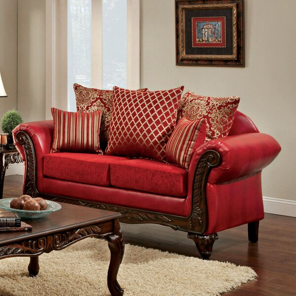 Clayson Pillow Back Loveseat by Astoria Grand Astoria Grand