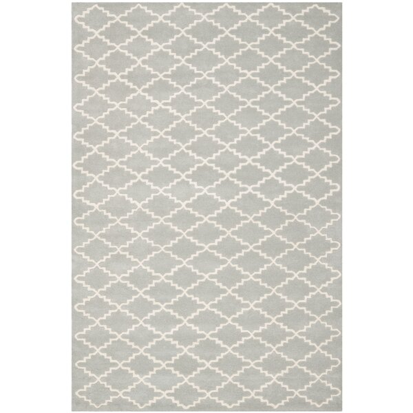 Wilkin Grey / Ivory Rug by Wrought Studio