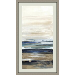 'Transformation I' Framed Painting Print by Global Designs
