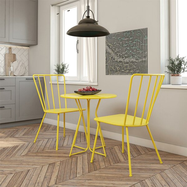 Heidi 3 Piece Bistro Set by Novogratz