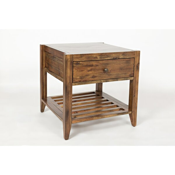 Athena End Table by Laurel Foundry Modern Farmhouse