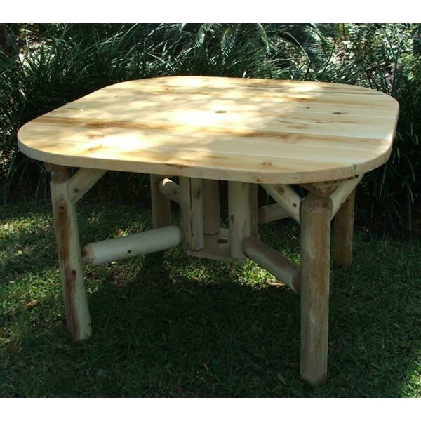 Roundabout Wooden Dining Table by Lakeland Mills