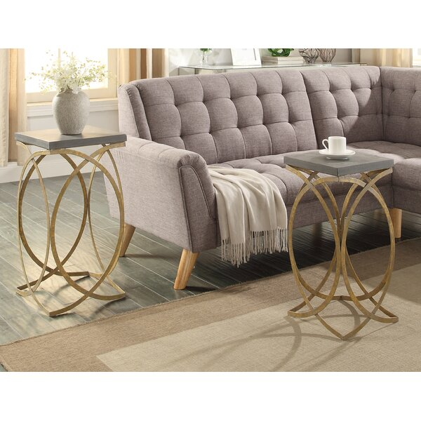Theophania 2 Piece Tables by Willa Arlo Interiors