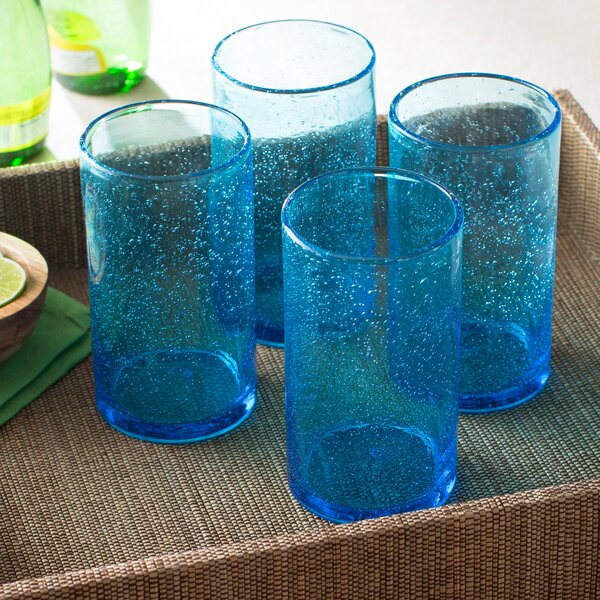 Candis Highball Glass (Set of 4) by Beachcrest Home
