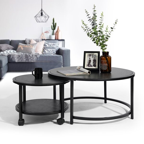 Ryele 2 Piece Coffee Table Set By Brayden Studio