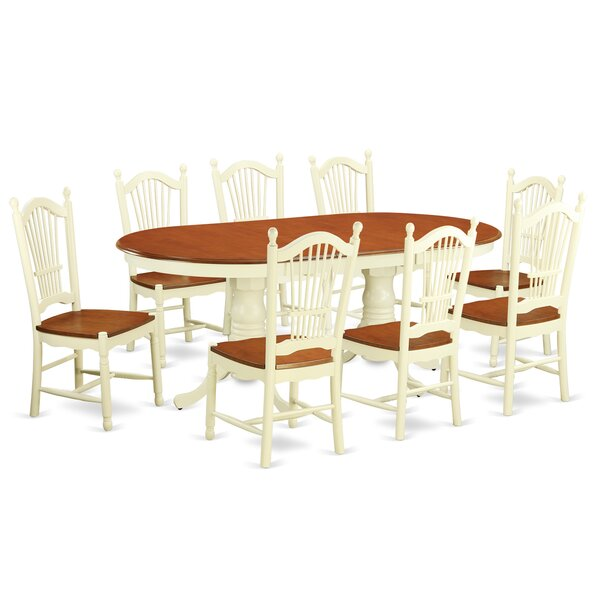 Pilcher 9 Piece Dining Set by August Grove