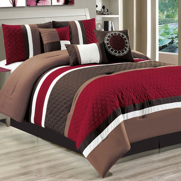 Casares 7 Piece Comforter Set by Red Barrel Studio