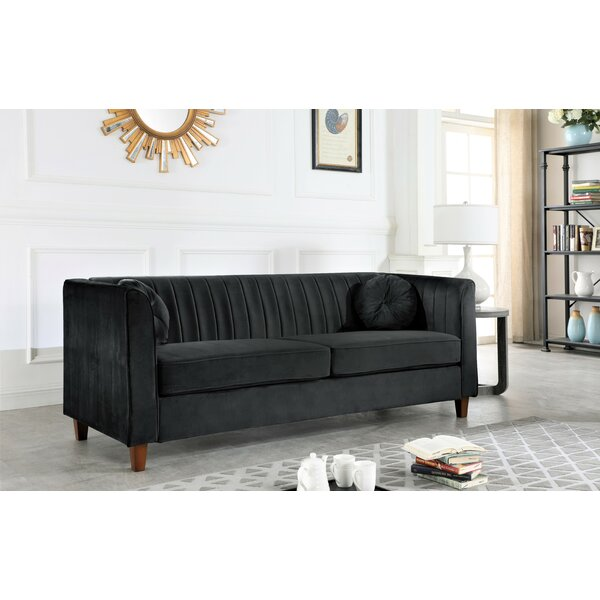 Valuable Price Arvilla Chesterfield Sofa by Mercer41 by Mercer41