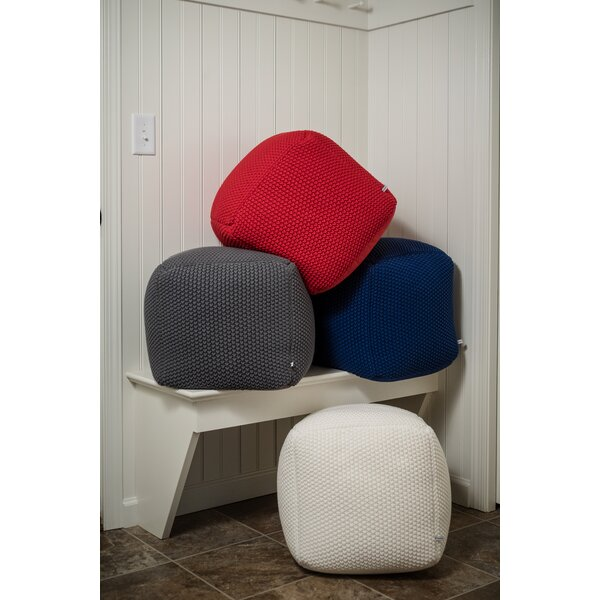 User Crocheted Pouf by Red Barrel Studio