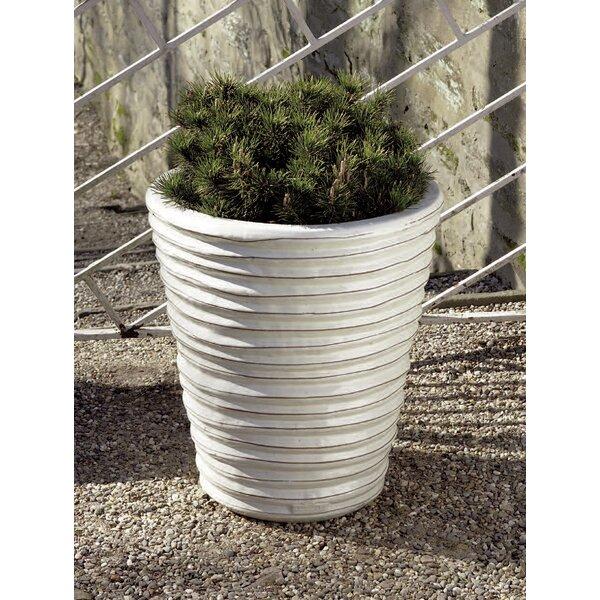 Riddles Round Ruffle 3-Piece Terra Cotta Pot Planter by Brayden Studio
