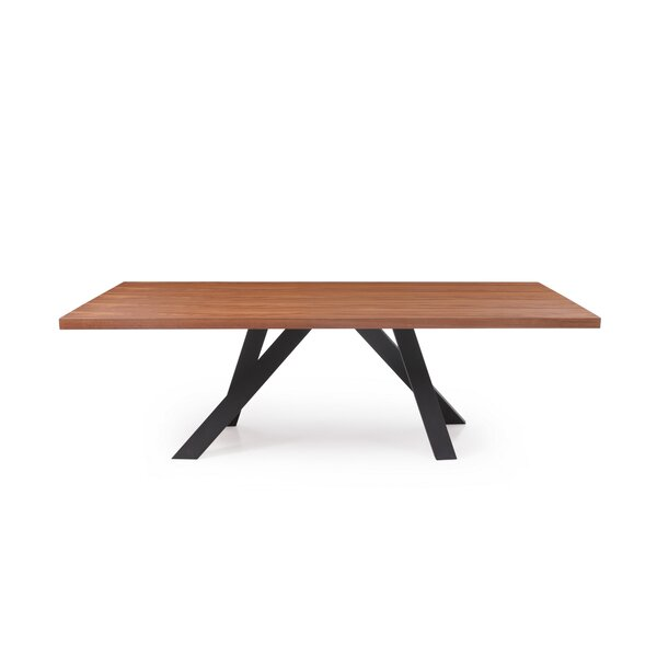 Weisman Modern Dining Table by Millwood Pines