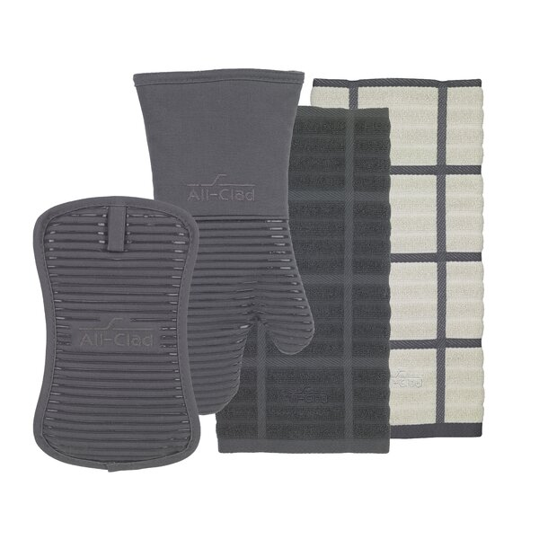 4- Piece Kitchen Textile Set by All-Clad