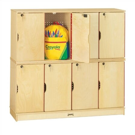 @ 2 Tier 4 Wide Storage Locker by Jonti-Craft| #$898.20!