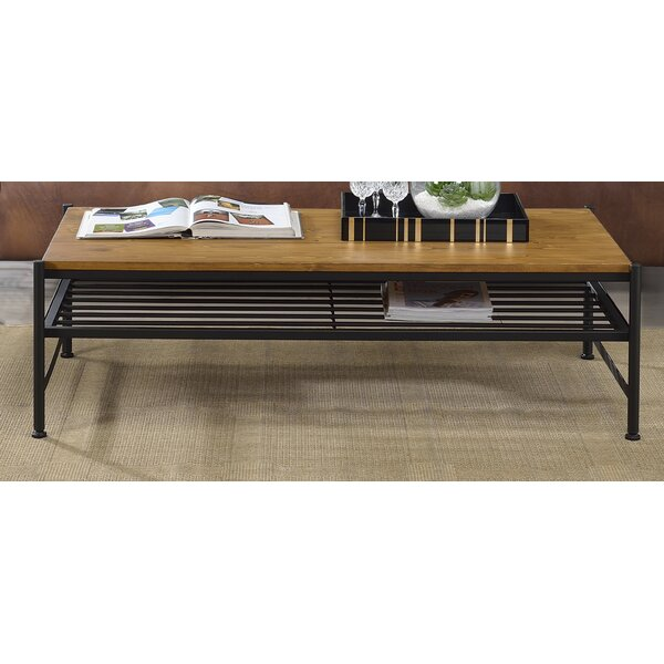 Schmit Coffee Table With Storage By Union Rustic