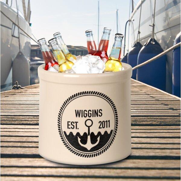 Claridge Personalized Anchor Established Ceramic Pot Planter by Breakwater Bay