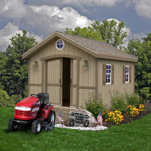 Cambridge Window Solid Wood Storage Shed by Best Barns