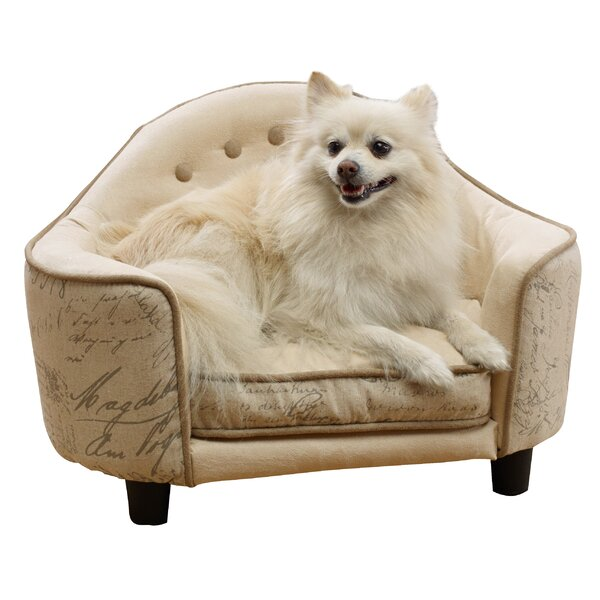 Louane Script Dog Sofa by Tucker Murphy Pet