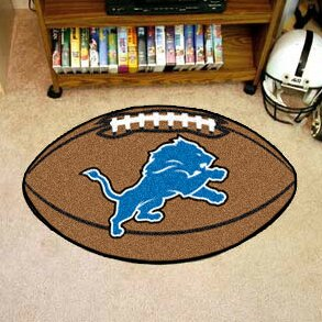 NFL - Detroit Lions Football Mat by FANMATS