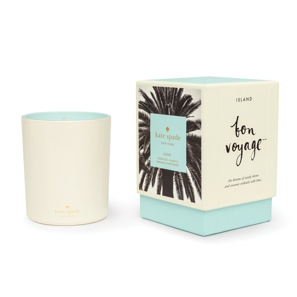 Bon Voyage Island Scented Jar Candle by kate spade new york