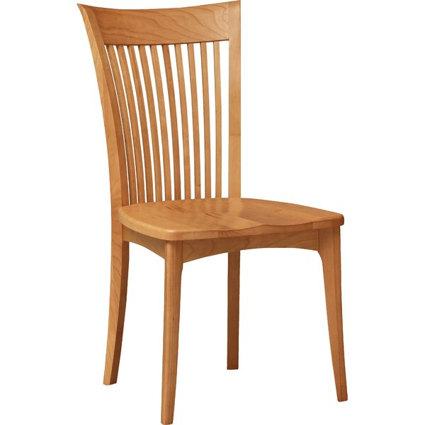 Sarah Solid Wood Slat Back Side Chair in Saddle Cherry by Copeland Furniture Copeland Furniture
