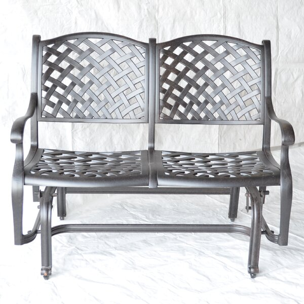 Nola Glider Bench by Darby Home Co