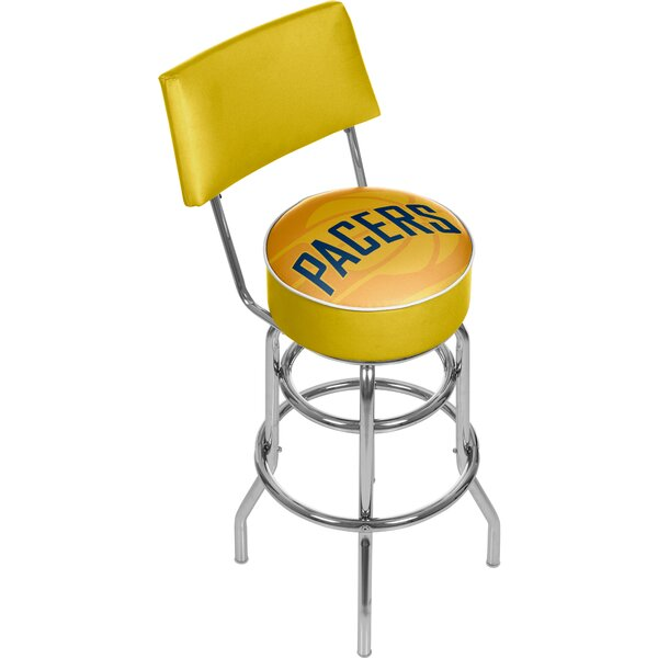NBA Fade 31 Swivel Bar Stool by Trademark Global