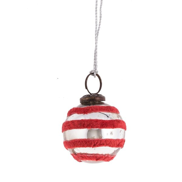 Father Frost Velvet Ball Ornament by The Holiday Aisle