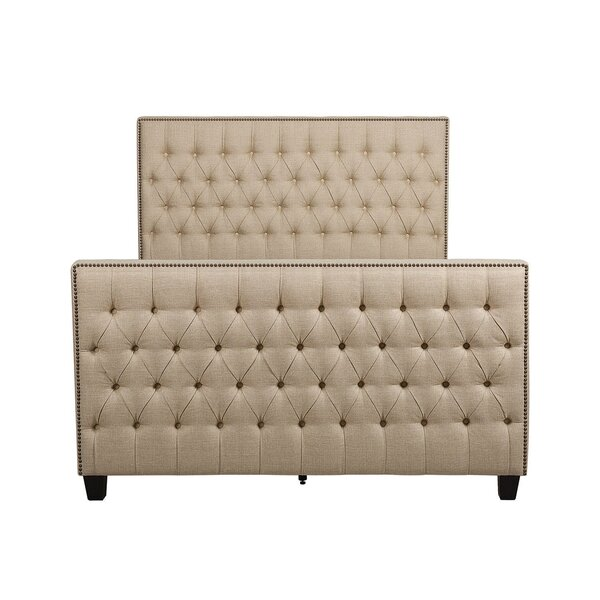 Watts Upholstered Standard Bed by Canora Grey