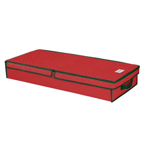 Gift Wrap and Ornament Box by Whitmor, Inc